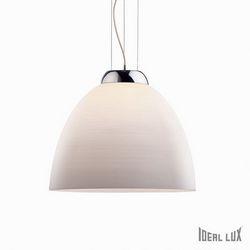 Lampadario sospensione Ideal Lux Tolomeo SP1 D40 BIANCO 001814