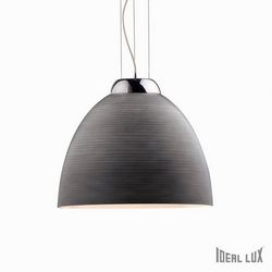 Lampadario sospensione Ideal Lux Tolomeo SP1 D40 GRIGIO 001821