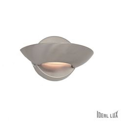 Lampada da parete Applique Ideal Lux Lumina AP1 NICKEL 002491