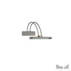 Lampada da parete Applique Ideal Lux Bow AP36 NICKEL 005379