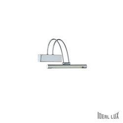 Lampada da parete Applique Ideal Lux Bow AP36 CROMO 005386