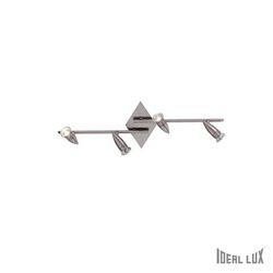 Plafoniera Ideal Lux Alfa PB4 NICKEL 006321