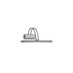 Lampada da parete Applique Ideal Lux Bow AP66 NICKEL 007038