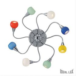 Plafoniera Ideal Lux Tender PL8 COLOR 007113