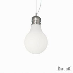 Lampadario sospensione Ideal Lux Luce SP1 SMALL BIANCO 007137