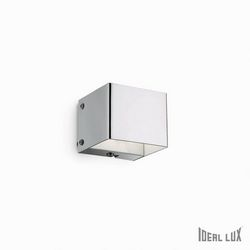 Lampada da parete Applique Ideal Lux Flash AP1 CROMO 007380