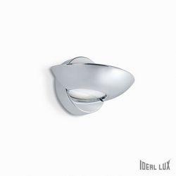Lampada da parete Applique Ideal Lux Lumina AP1 CROMO 007557