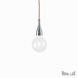 Lampadario sospensione Ideal Lux Minimal SP1 CROMO 009384