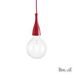 Lampadario sospensione Ideal Lux Minimal SP1 ROSSO 009414