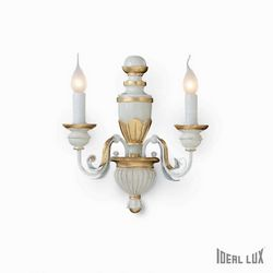 Lampada da parete Applique Ideal Lux Firenze AP2 012902