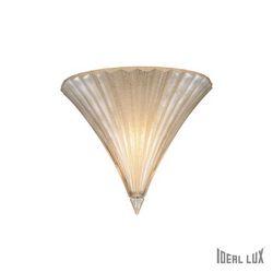 Lampada da parete Applique Ideal Lux Santa AP1 SMALL ORO 013046
