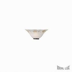 Lampada da parete Applique Ideal Lux Foglia AP1 D30 013787