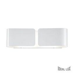 Lampada da parete Applique Ideal Lux Clip AP2 SMALL BIANCO 014166