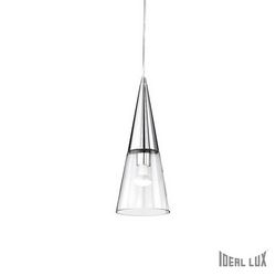 Lampadario sospensione Ideal Lux Cono SP1 CROMO 017440