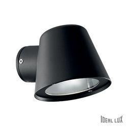 Faretto da esterno Ideal Lux Gas AP1 NERO 020228