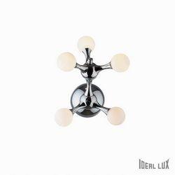 Lampada da parete Applique Ideal Lux Nodi BIANCO AP5 022277