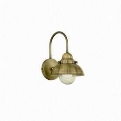 Lampada da parete Applique Ideal Lux Sailor AP1 D20 BRUNITO 025261