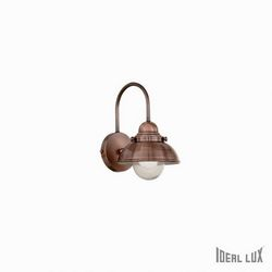 Lampada da parete Applique Ideal Lux Sailor AP1 D20 RAME 025292