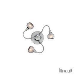 Plafoniera Ideal Lux Tender PL3 TRASPARENTE 028682
