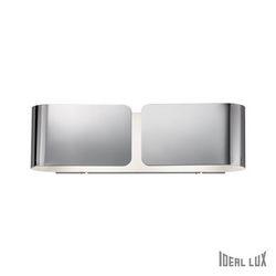 Lampada da parete Applique Ideal Lux Clip AP2 SMALL CROMO 031361