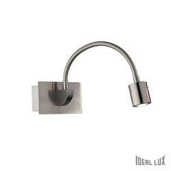 Lampada da parete Applique Ideal Lux Dynamo AP1 NICKEL 031477