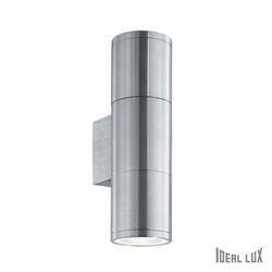 Lampada da esterno Applique Ideal Lux Gun AP2 SMALL ALLUMINIO 033013