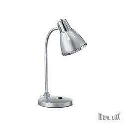 Lampada da tavolo Ideal Lux Elvis TL1 ARGENTO 034416