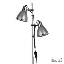 Lampada da terra Ideal Lux Elvis PT2 ARGENTO 042794