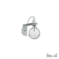 Lampada da parete Applique Ideal Lux Minimal AP1 BIANCO 045191