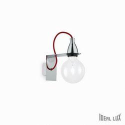 Lampada da parete Applique Ideal Lux Minimal AP1 CROMO 045207