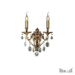 Lampada da parete Applique Ideal Lux Gioconda AP2 ORO 060491