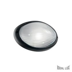 Lampada da esterno Applique Ideal Lux Mike AP1 SMALL NERO 061771