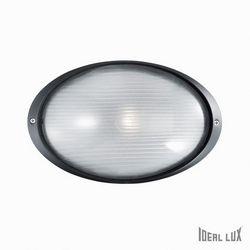 Lampada da esterno Applique Ideal Lux Mike AP1 BIG NERO 061801