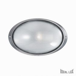 Lampada da esterno Applique Ideal Lux Mike AP1 BIG ANTRACITE 061818