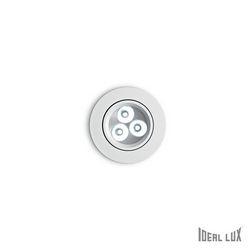 Faretto da incasso Ideal Lux Delta FI3 BIANCO 062396