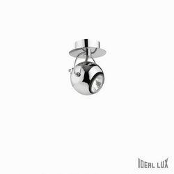 Lampada da parete Applique Ideal Lux Lunare AP1 CROMO 066790
