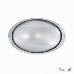 Lampada da esterno Applique Ideal Lux Mike AP1 BIG BIANCO 066882
