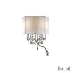 Lampada da parete Applique Ideal Lux Opera AP3 BIANCO 068268