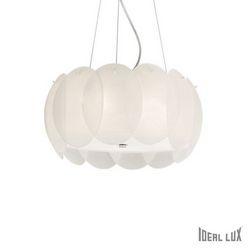 Lampadario sospensione Ideal Lux Ovalino SP5 BIANCO 074139