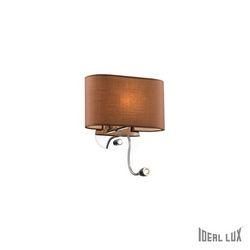 Lampada da parete Applique Ideal Lux Sheraton AP2 MARRONE 074917