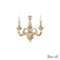 Lampada da parete Applique Ideal Lux Giglio AP2 ORO 075280