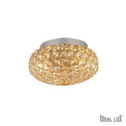 Plafoniera Ideal Lux King PL3 ORO 075402