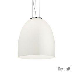 Lampadario sospensione Ideal Lux Eva SP1 BIG BIANCO 077703