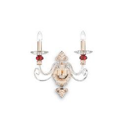 Lampada da parete Applique Ideal Lux Baronet AP2 081748