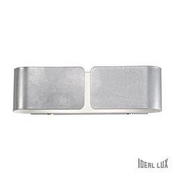Lampada da parete Applique Ideal Lux Clip AP2 SMALL ARGENTO 088273