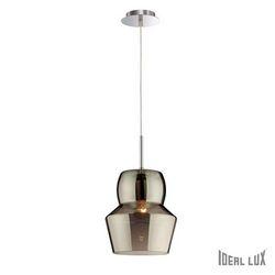Lampadario sospensione Ideal Lux Zeno SP1 BIG FUME 088938