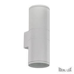 Lampada da esterno Applique Ideal Lux Gun AP2 BIG BIANCO 092300