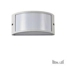 Lampada da esterno Applique Ideal Lux Rex-1 AP1 BIANCO 092393