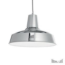 Lampadario sospensione Ideal Lux Moby SP1 CROMO 093680