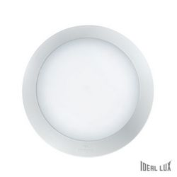 Plafoniera da esterno Ideal Lux Berta AP1 MEDIUM BIANCO 096421